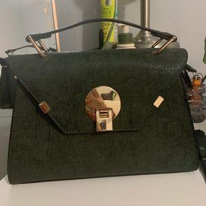 Cute green bag